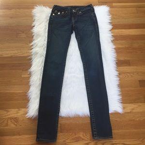 True Religion Julie Blue Skinny Jeans